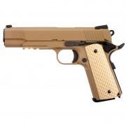 Страйкбольный пистолет (WE) COLT 1911A1 Kimber Style металл (TAN)