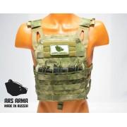 Бронежилет разгрузка JPC Ars Arma (A-Tacs FG), размер L