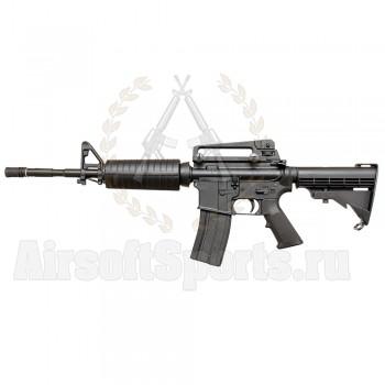Макет страйкбольного автомата (WELL) M4A1 GBB металл (не стреляет)