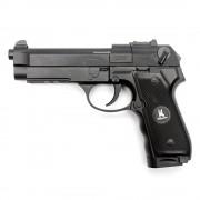 Страйкбольный пистолет (HFC) Beretta M9 CO2 металл 6 шаров барабан (УЦЕНКА)