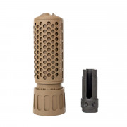 Глушитель (GK Tactical) KAC QDC / CQB Suppressor (14mm-) TAN