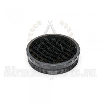 Колпачок-фильтр антиблик MRO сетка (Black)